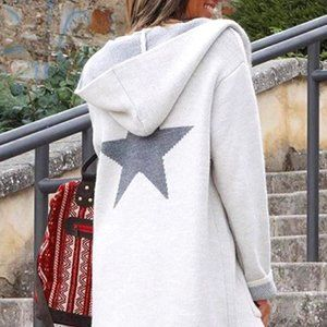 ⭐COMING SOON⭐ Causal Knitted Hooded Jacket
